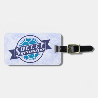 Customize Your Own Soccer Grandpa Luggage Tag