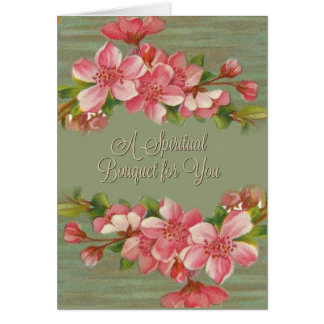 CUSTOMIZE your own Spiritual Bouquet Prayer Card