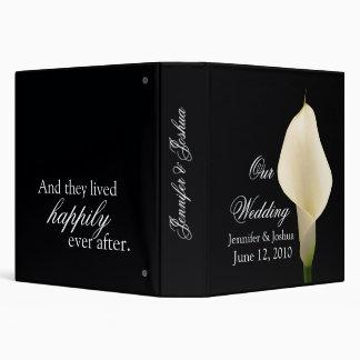 Customize your own wedding storybook ... 3 ring binder