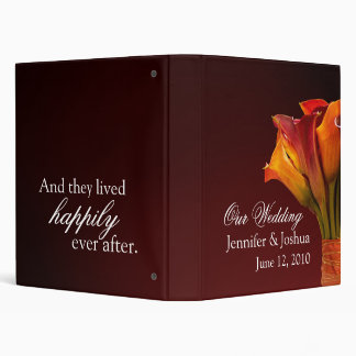 Customize your own wedding storybook ... 3 ring binders