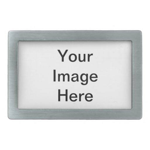 Customize Your Products Rectangular Belt Buckle