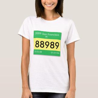 Customize your race bib on a shirt! T-Shirt