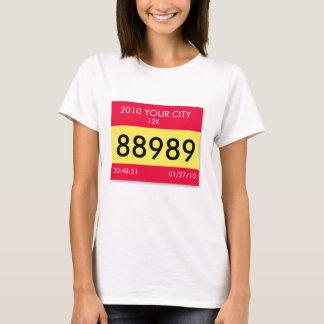 Customize your race info on a unique shirt! T-Shirt