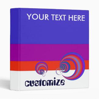 CUSTOMIZE your retro binder