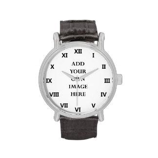 customize your roman numerals watch portrait