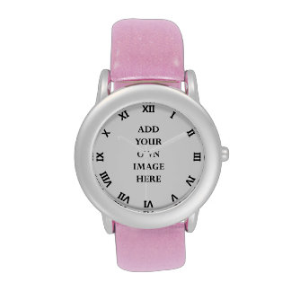 customize your roman turned numerals watch