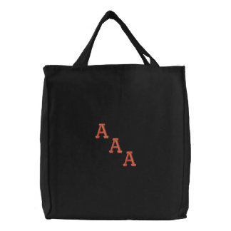Customize your sorority embroidered tote bag