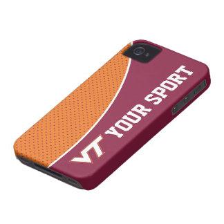 Customize Your Sport Virginia Tech Case-Mate iPhone 4 Case