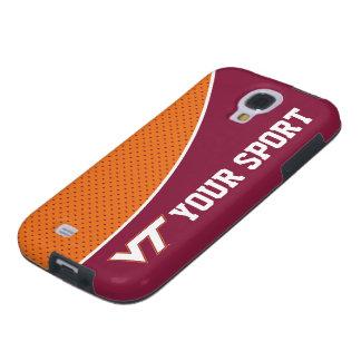Customize Your Sport Virginia Tech Galaxy S4 Case