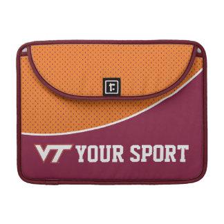 Customize Your Sport Virginia Tech Sleeve For MacBook Pro