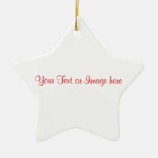 CUSTOMIZE Your Style Shaped Ornament