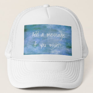 Customize Your Trucker Hat