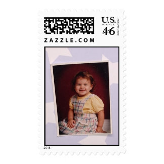 CUSTOMIZE your very own Postage Stamp