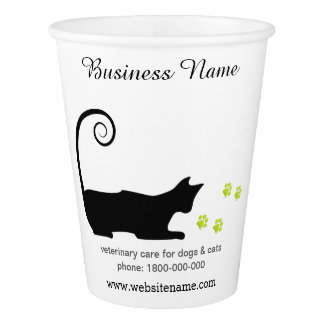 Customize Your Vet Services Disposable Cup Paper Cup