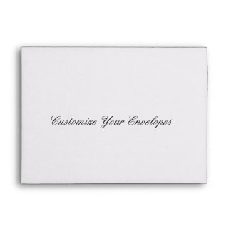 Customize Your Wedding Invitation Envelopes