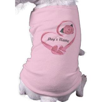 Customize Yourself Dog Bride Shirt Pet T Shirt