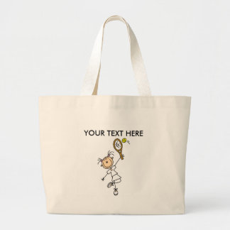 Customize Yourself Women's Tennis Tote Bag