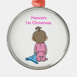 Customizeable 1st Christmas ornament