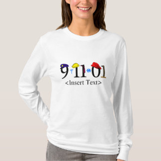 Customizeable 9-11-01 T-Shirt