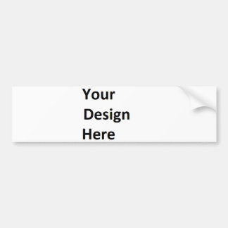 Customizeable Bumper Stickers