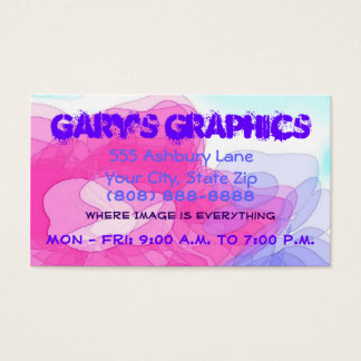 Customizeable Business Card