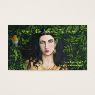 Customizeable Business Card with Painting