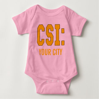 CUSTOMIZEABLE CSI Products Baby Bodysuit
