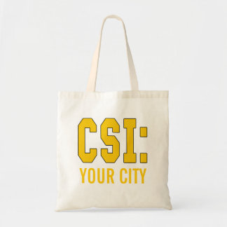 CUSTOMIZEABLE CSI Products Tote Bags