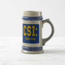 CUSTOMIZEABLE CSI Products Beer Stein