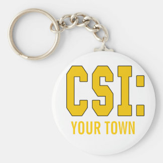 CUSTOMIZEABLE CSI Products Keychain