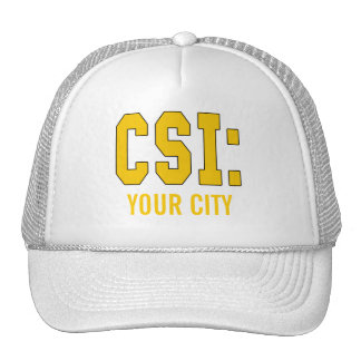 CUSTOMIZEABLE CSI Products Trucker Hat