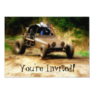 Customizeable Dune Buggy Mudfest  -You're Invited! Custom Announcement