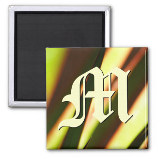 Customizeable Monogram Initial Magnet