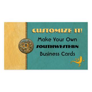 Customizeable SOUTHWESTERN Designer Business Cards