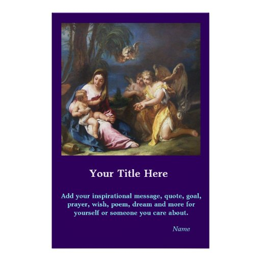 CustomizeABLEs - Mary and Child Posters