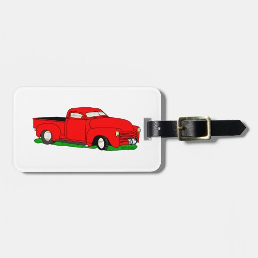 Customized 1950 Chevy Pickup Luggage Tags