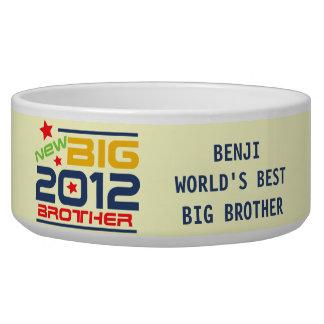 Customized 2012 Big Brother Dog Dish