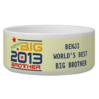 Customized 2013 Big Brother Dog Dish