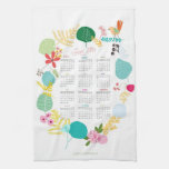 Customized 2014 Calendar Kitchen Towe Hand Towels