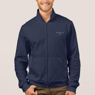 Customized 26.2 Marathon Fleece Zip Jogger Jacket