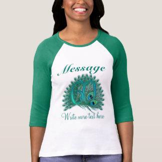 Customized 60 elegant text 60th birthday T-shirt