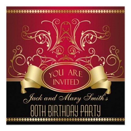 Elegant Retirement Invitations with nice invitations design
