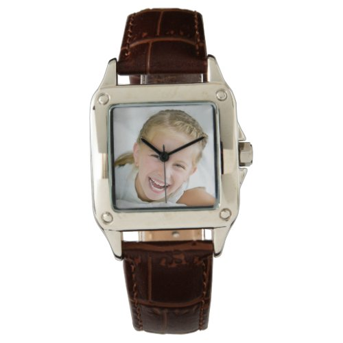 Customized Add a Photo Watch