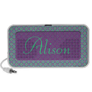 Customized and Mosaic name of Morocco Portable Speaker