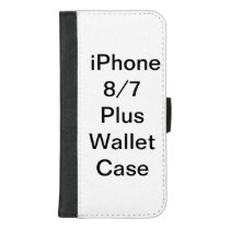 Customized Apple iPhone 7 Plus Wallet Case