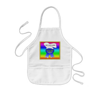 """Customized Aprons for Kids, """"Future Chef"""""""