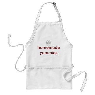 Customized aprons with symbol of love-home cooking