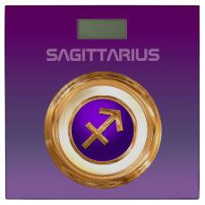 Customized Archer Zodiac Symbol Bathroom Scale
