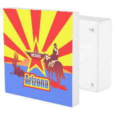 Customized Arizona State Flag Vintage Drawing Outlet Cover
