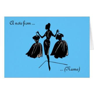 Customized Audrey Note Card